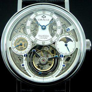 Oracle Tourbillon Luxury Men's Watch - Byzantine